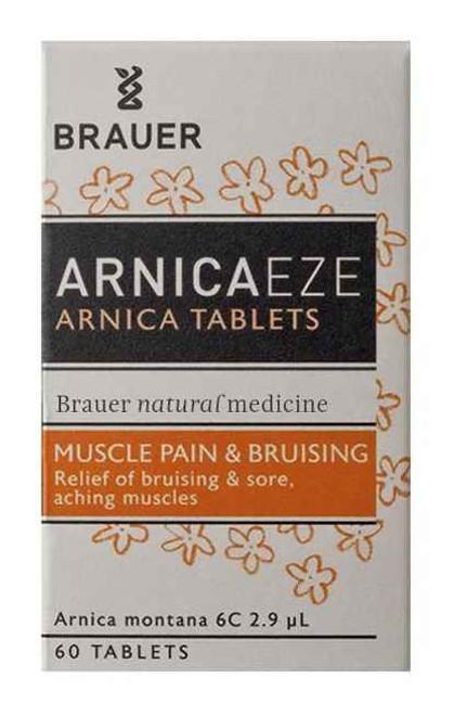 Brauer Arnica Tablets 60 Brauer SuperPharmacyPlus