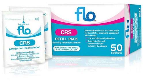 Flo CRS Refill Pack 50 Sachets Ent Technologies SuperPharmacyPlus