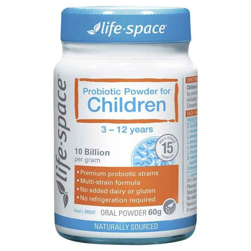 Life Space Probiotic Powder for Children 10 Billion 60g Evolution Health Pty Ltd SuperPharmacyPlus