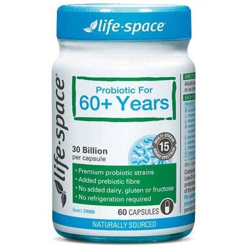 Life Space Probiotic For 60 Years 60 Capsules Evolution Health Pty Ltd SuperPharmacyPlus