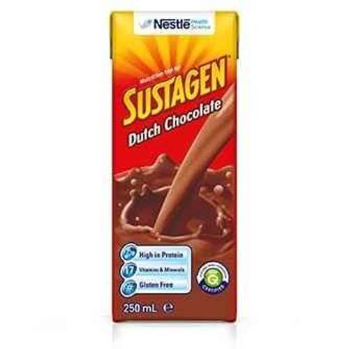 Sustagen Ready To Drink Dutch Chocolate 250ml Nestle Health Science SuperPharmacyPlus