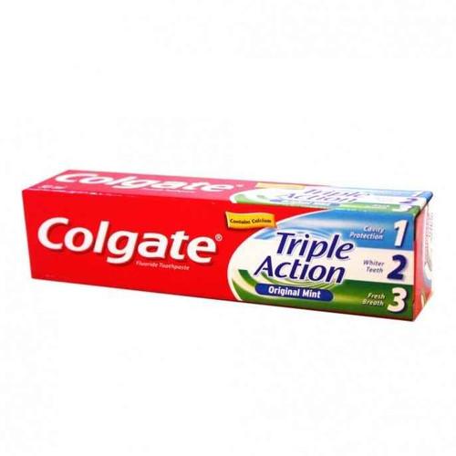 Colgate Triple Action Toothpaste 100ml Colgate SuperPharmacyPlus