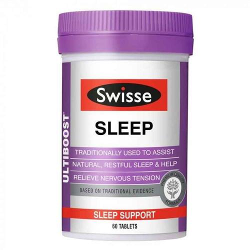 Swisse Ultiboost Sleep 60 Tablets Swisse SuperPharmacyPlus