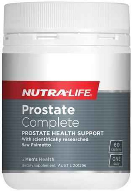 Nutralife Prostate Complete 60 Capsules NUTRALIFE SuperPharmacyPlus