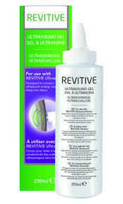 Revitive Ultralieve Ultrasound gel 250ml Revitive SuperPharmacyPlus