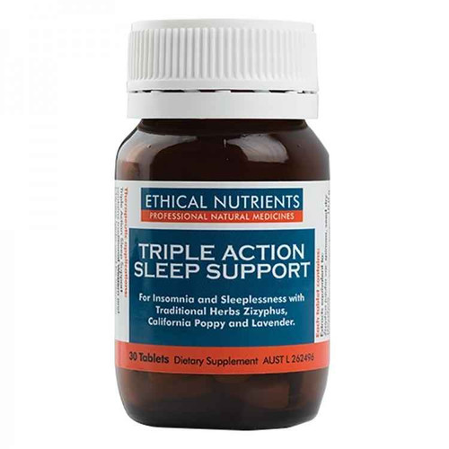 Ethical Nutrients Triple Action Sleep Support 30 Tablets Ethical Nutrients SuperPharmacyPlus