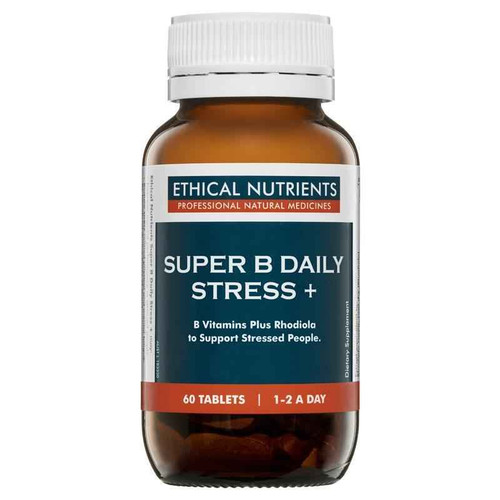 Ethical Nutrients Super B Daily Stress 60 Tablets Ethical Nutrients SuperPharmacyPlus