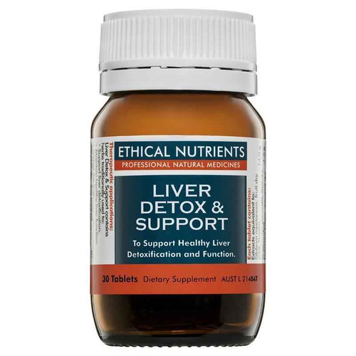 Ethical Nutrients Liver Detox and Support 30 Tablets Ethical Nutrients SuperPharmacyPlus