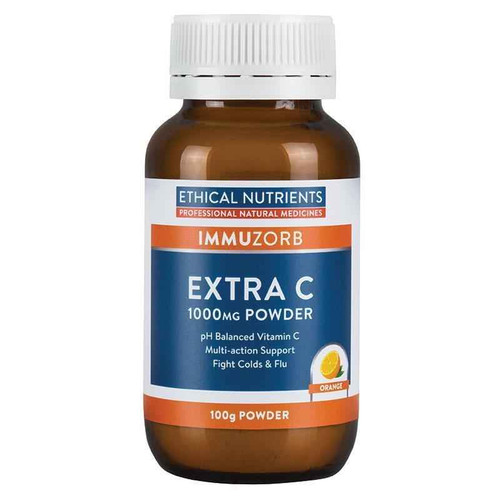 Ethical Nutrients Immuzorb Extra C 1000 mg Powder 100g Ethical Nutrients SuperPharmacyPlus