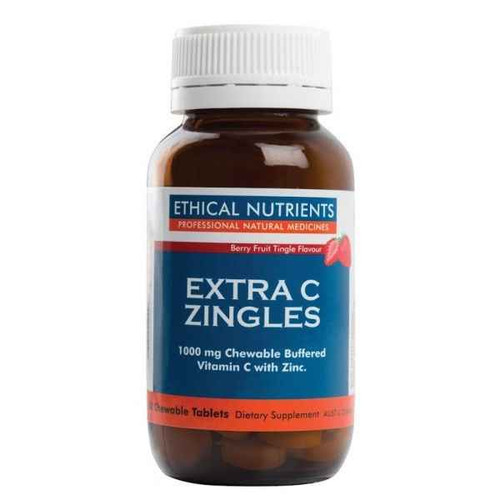 Ethical Nutrients Immuzorb Extra C Zingles Berry 50 Tablets Ethical Nutrients SuperPharmacyPlus