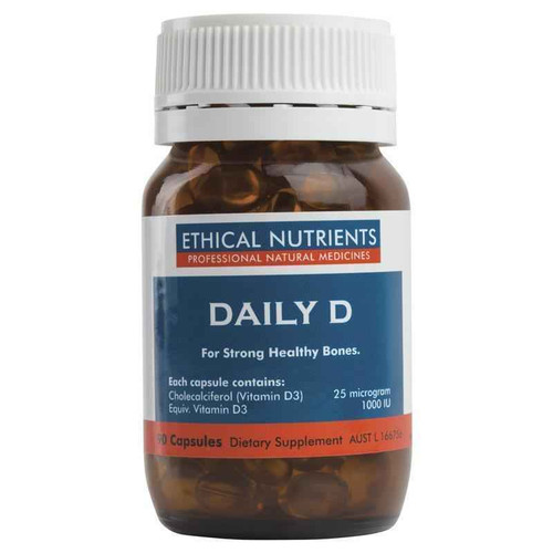 Ethical Nutrients Daily D 90 Capsules Ethical Nutrients SuperPharmacyPlus