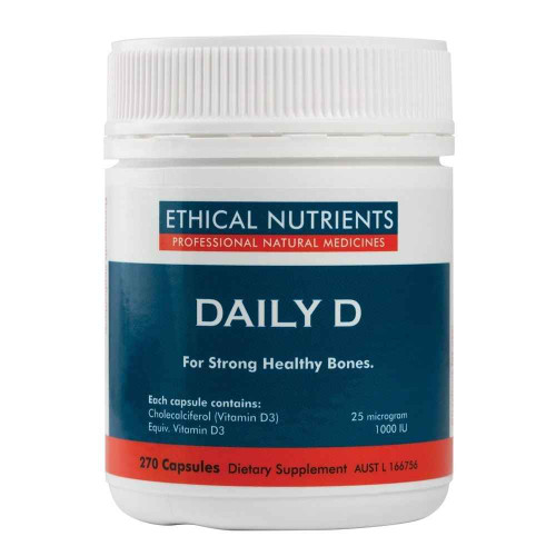 Ethical Nutrients Daily D 270 Capsules Ethical Nutrients SuperPharmacyPlus
