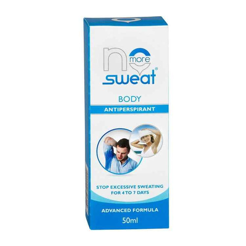 No More Sweat Total Body 50ml No More Sweat SuperPharmacyPlus