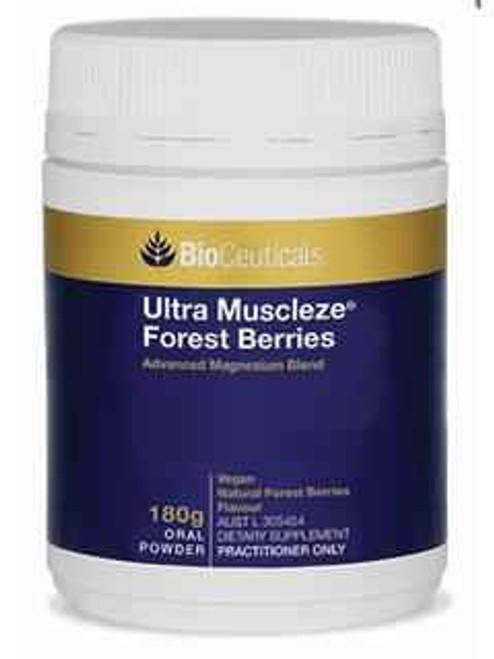 Bioceuticals Ultra Muscleze Forest Berries Powder 180g BioCeuticals SuperPharmacyPlus