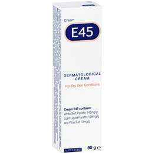 E45 Dermatological Cream 50g E45 SuperPharmacyPlus
