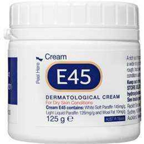 E45 Dermatological Cream 125g E45 SuperPharmacyPlus