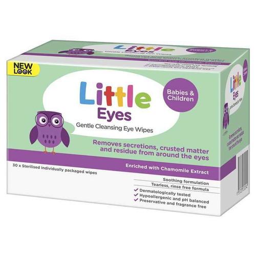 Little Eyes Cleansing Eye Wipes 30 Little SuperPharmacyPlus