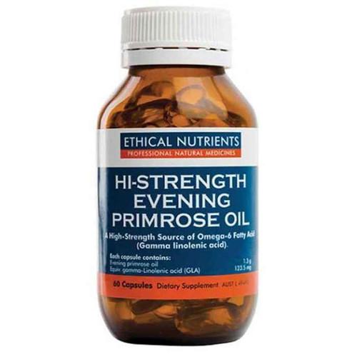 Ethical Nutrients Hi-Strength Evening Primrose Oil 60 Capsules Ethical Nutrients SuperPharmacyPlus