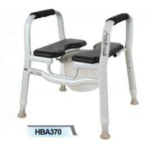 Split Seat Shower Chair and Over Toilet Aid X-Wide or Wt Cap 280kg DISCONTINUED Freedom Health Care SuperPharmacyPlus