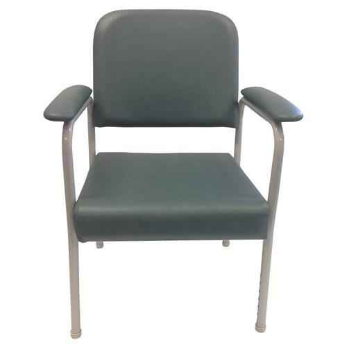 Low Back Utility Chair Teal or Wt Cap 160kg CareQuip SuperPharmacyPlus