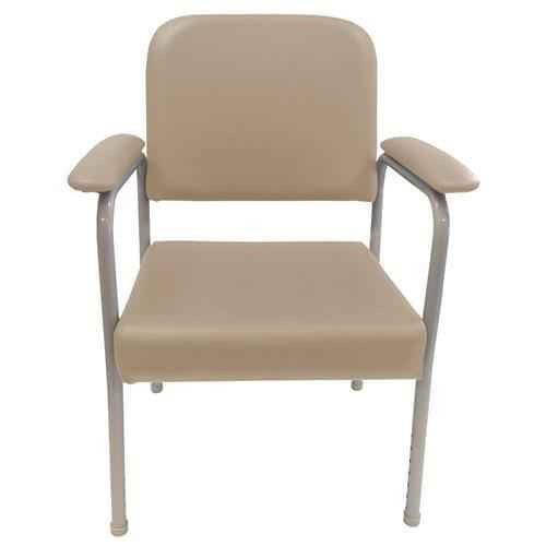 Low Back Utility Chair Mocha or Wt Cap 160kg Homecraft SuperPharmacyPlus