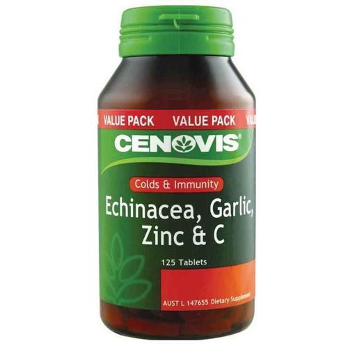 Cenovis Echinacea Garlic Zinc and C 125 Tablets Cenovis SuperPharmacyPlus
