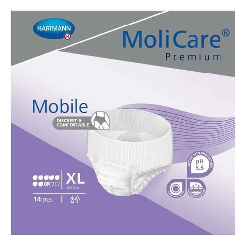Molicare Premium Mobile 8 Drop Extra Large 14 Pack Hartmann SuperPharmacyPlus
