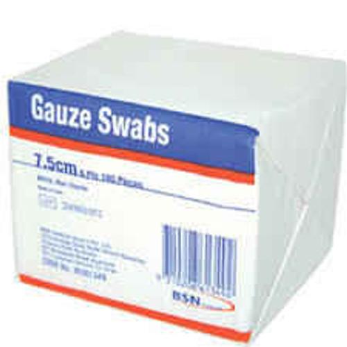 Gauze Swabs 7.5cm 8 ply 100 pieces BSN Medical SuperPharmacyPlus