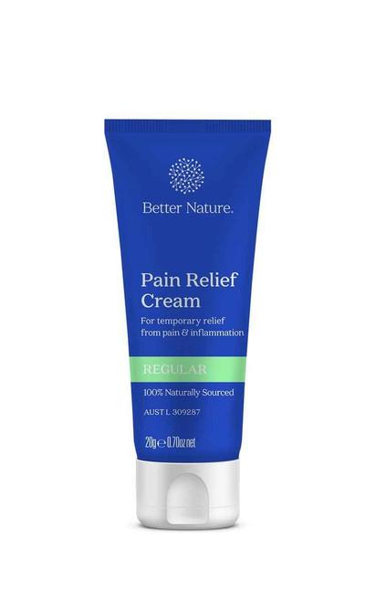 Better Nature Pain Relief Cream Regular 50g Better Nature Aus Pty Ltd SuperPharmacyPlus