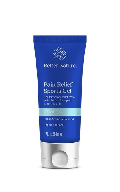 Better Nature Pain Relief Sports Gel Cooling 75g Better Nature Aus Pty Ltd SuperPharmacyPlus