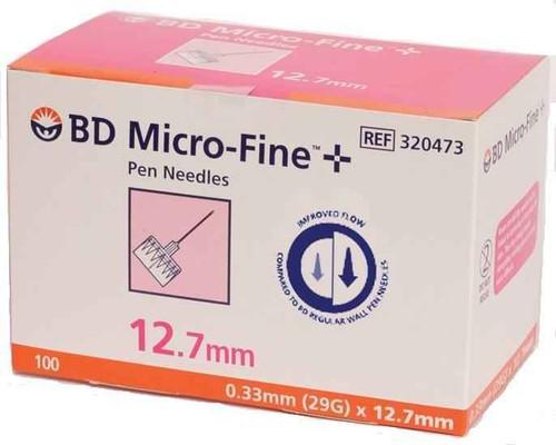 BD Micro-Fine Pen Needles 0.33mm 29G x 12.7mm x100 BD SuperPharmacyPlus