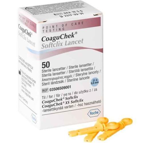 CoaguChek Softclix Lancet x50 Roche SuperPharmacyPlus
