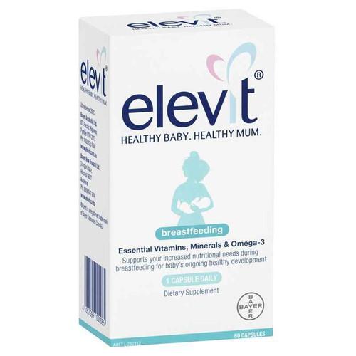 Elevit Breastfeeding Multivitamin Capsules 60 Pack Bayer SuperPharmacyPlus