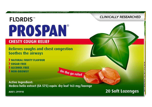 Flordis Prospan 20 Lozenges Flordis SuperPharmacyPlus