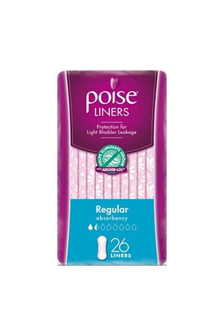 Poise Liners Regular 26 Pack Poise SuperPharmacyPlus