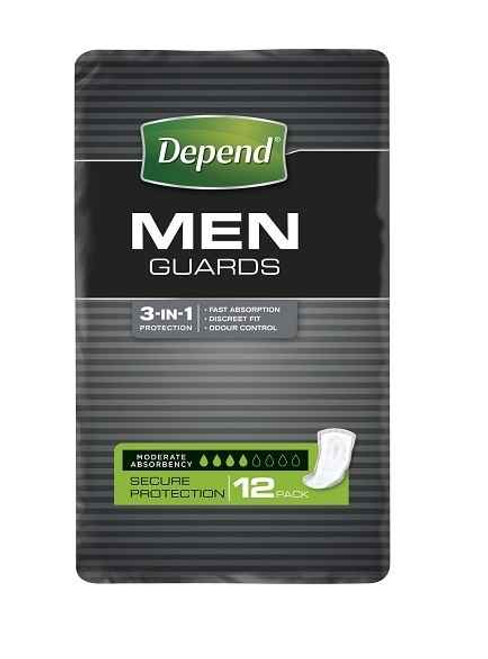 Depend Guards for Men 12 Pack Depends SuperPharmacyPlus