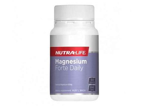 Nutra-Life Magnesium Forte Daily 50 Capsules NUTRALIFE SuperPharmacyPlus