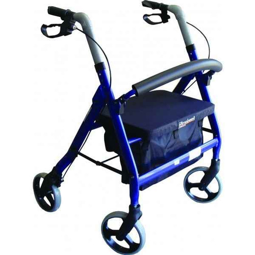 Rollator Extra-Wide Heavy Duty 200kg Weight Capacity Freedom Health Care SuperPharmacyPlus