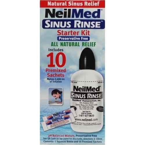 NeilMed Sinus Rinse Starter Kit - 10 Sachets NeilMed SuperPharmacyPlus