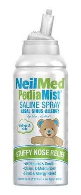 NeilMed PediaMist Saline Spray 75ml NeilMed SuperPharmacyPlus