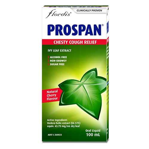 Prospan Chesty Cough Relief 100ml Flordis SuperPharmacyPlus