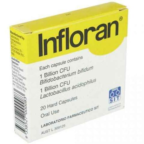 Infloran Capsules 20 Evidence Based Probiotics SuperPharmacyPlus