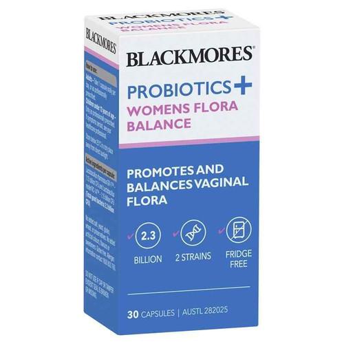 Blackmores Probiotics Womens Flora Balance 30 Capsules Blackmores SuperPharmacyPlus