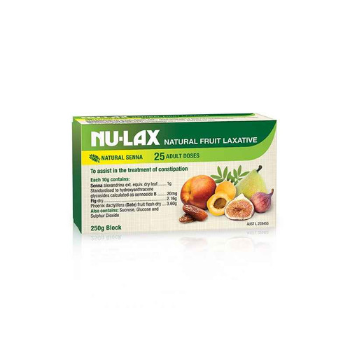 Nulax Fruit Laxative 250g Nulax SuperPharmacyPlus