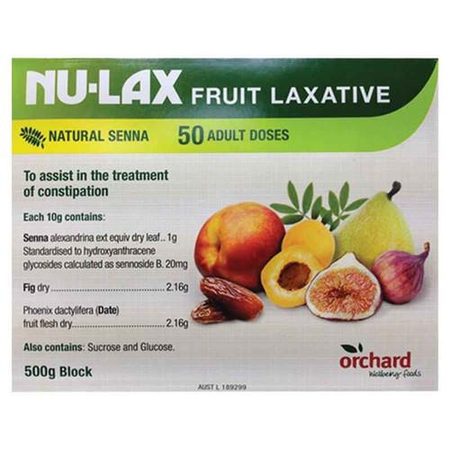 Nulax Fruit Laxative 500g Nulax SuperPharmacyPlus