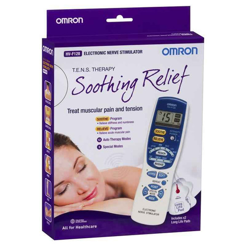 Omron HVF128 Premium TENS Therapy Device Omron SuperPharmacyPlus