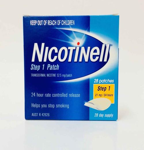 Nicotinell Step 1 Patch 21mg 28 Patches Perrigo Australia SuperPharmacyPlus