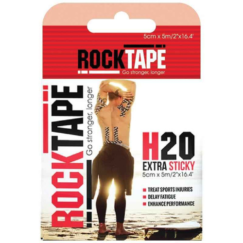 Rocktape H2O Beige 5cm x 5m Rocktape SuperPharmacyPlus