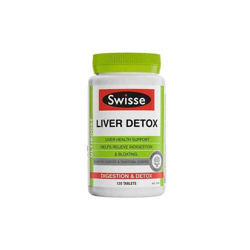 Swisse Ultiboost Liver Detox 120 Tablets Swisse SuperPharmacyPlus