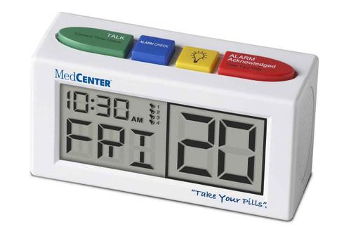 MedCenter Talking Alarm Clock Medication Reminder TabTimer SuperPharmacyPlus